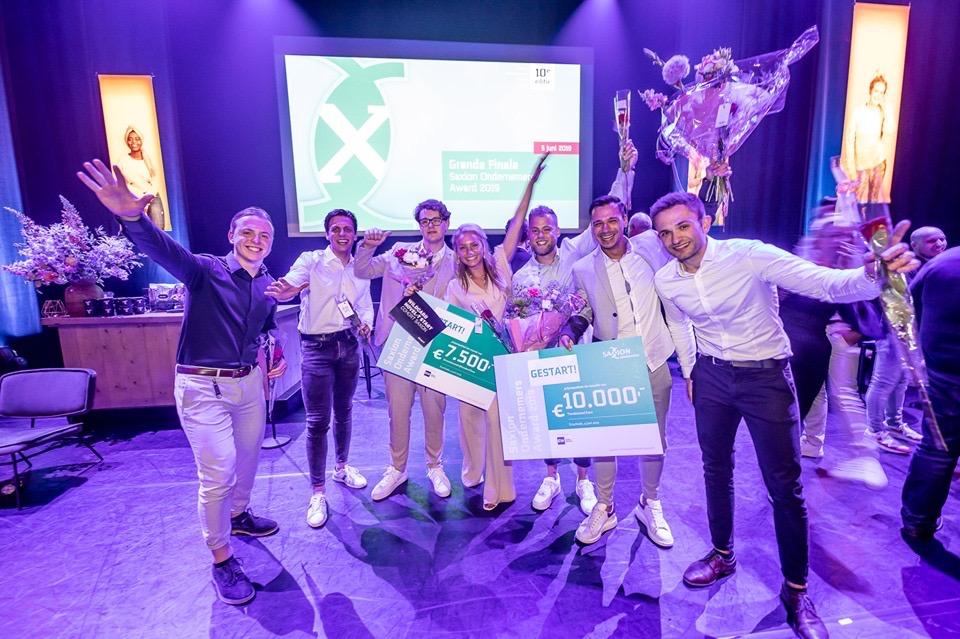 Saxion ondernemersaward finalisten
