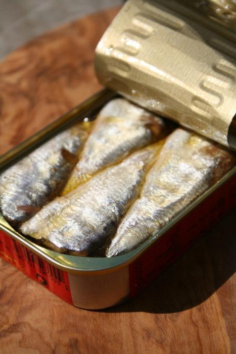 Sardines op olijfolie van La belle-iloise