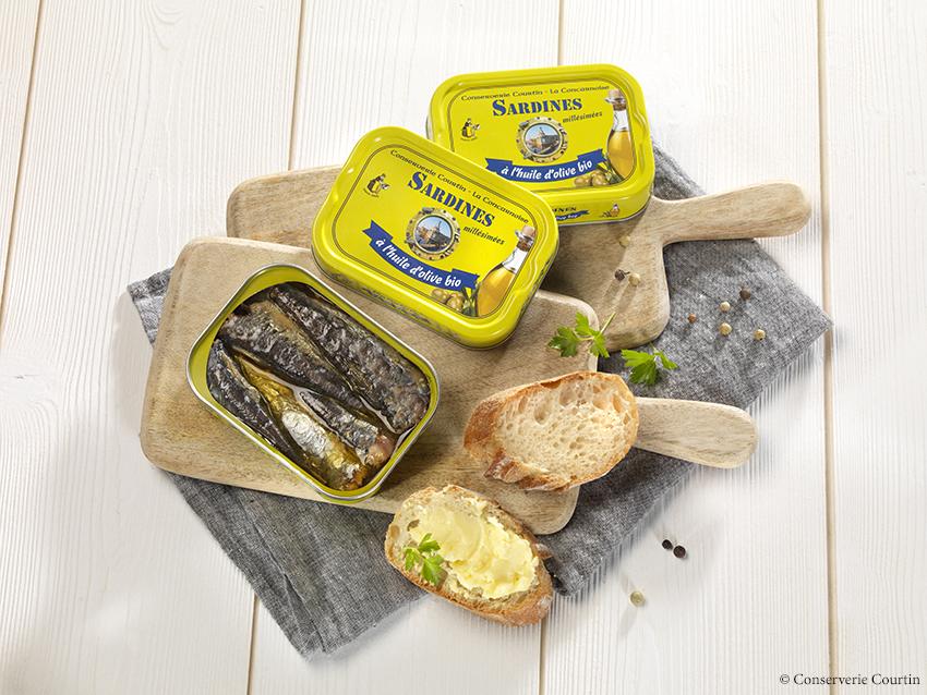 Conserverie Courtin - Sardines millésimées
