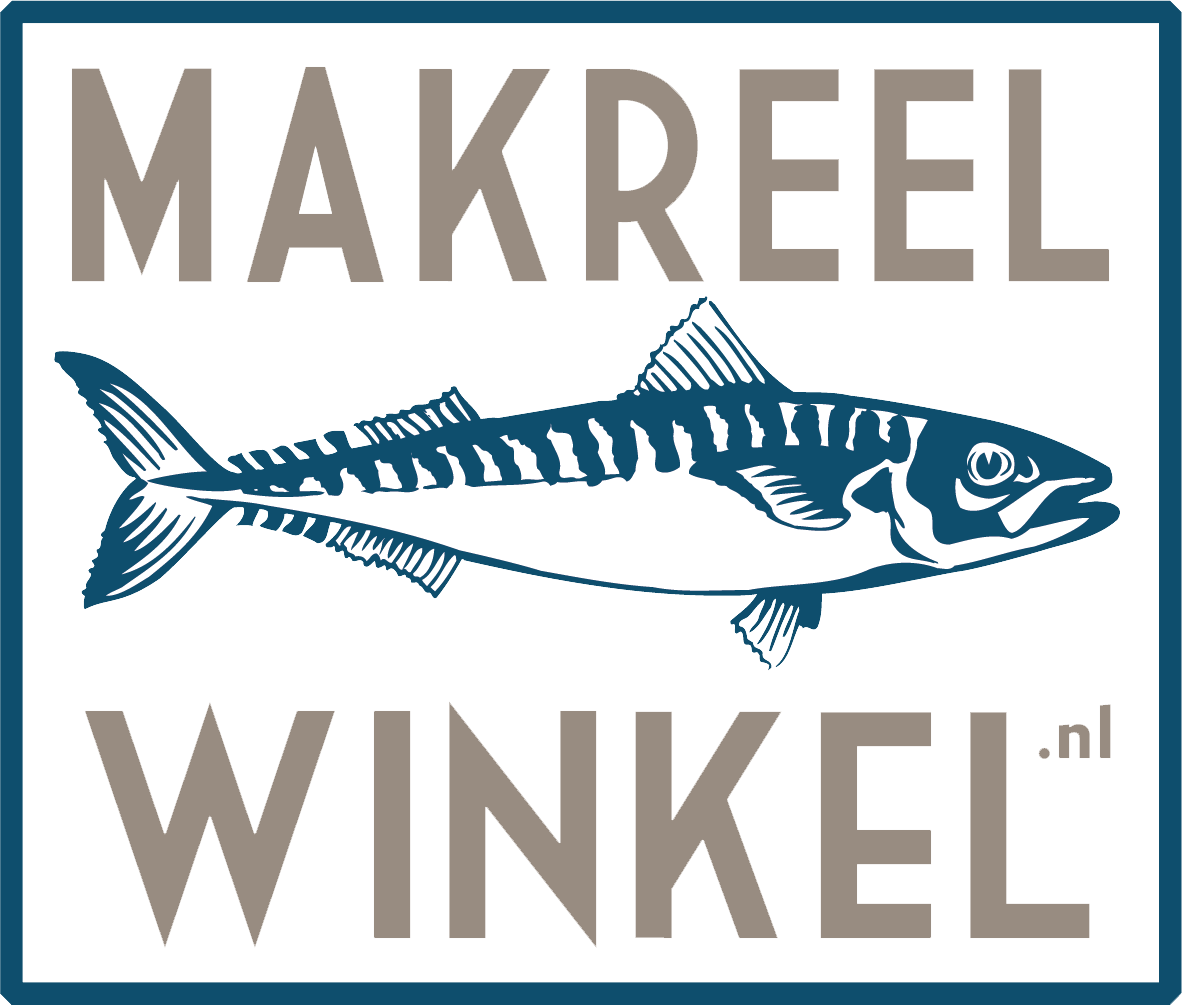 De MAKREEL WINKEL Logo