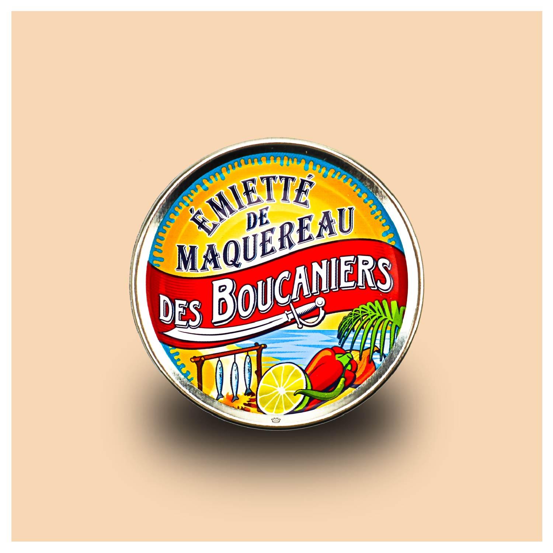 La belle-iloise makreel emiette Boucanier stijl