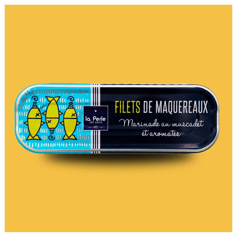 Makreel in Muscadet wijn
