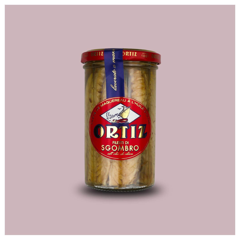 Makreelfilet in olijfolie
